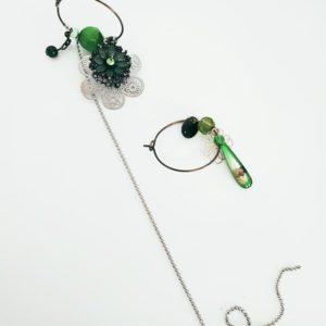 boucles d oreilles asymetrique fabriqemoi