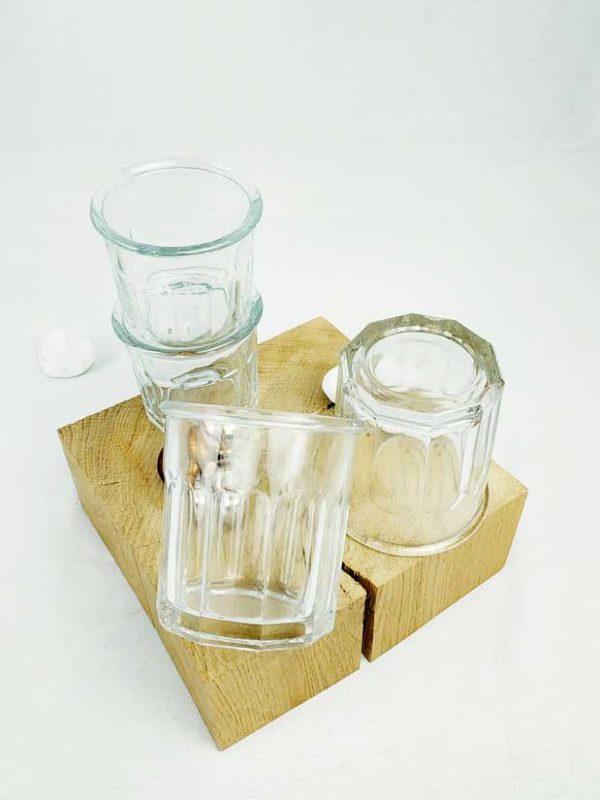 bocaux anciens en verre épais de qualité FabriQémoi