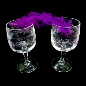 verre apéritif gravée pour apéritif