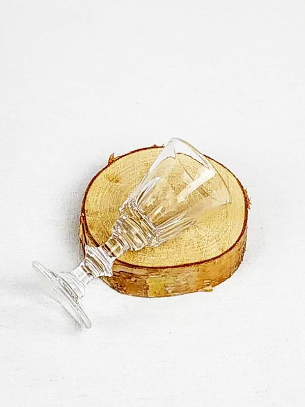 Petit verre à digestif vintage fabriqemoi