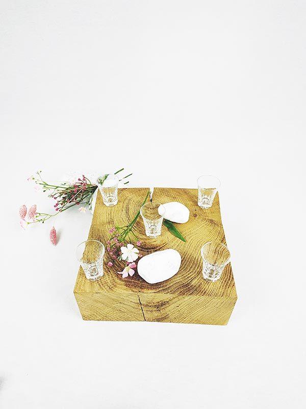 Petit verre à digestif petit vase vintage fabriqemoi