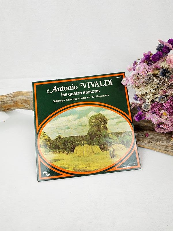disque 33 tours A. Vivaldi les quatre saisons