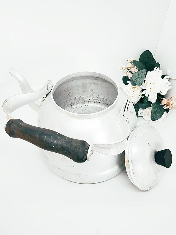 Bouilloire en aluminium vintage de 4 L de FabriQémoi