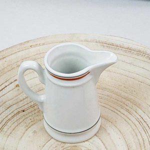 Pot à lait service Bistrot en porcelaine d'auteuil de fabriqemoi