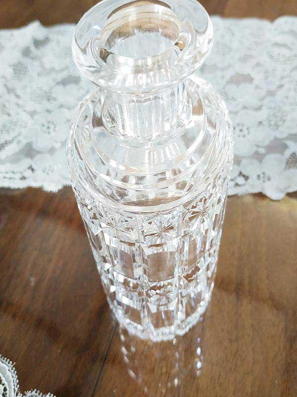 Vase ou petite bouteille en verre Baccara de FabriQémoi