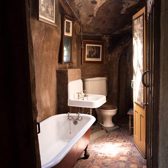 Déco de salle de bain vintage rétro fabriqemoi